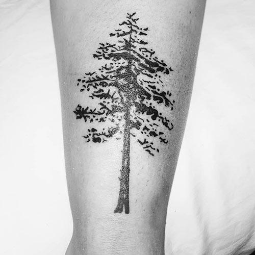 Cypress Tree Of Life Tattoo