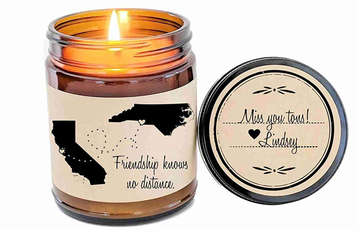 Define Design 11 Long Distance Friendship Scented Soy Candle