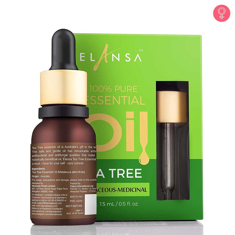 Elansa 100% Pure Tea Tree Essential Oil