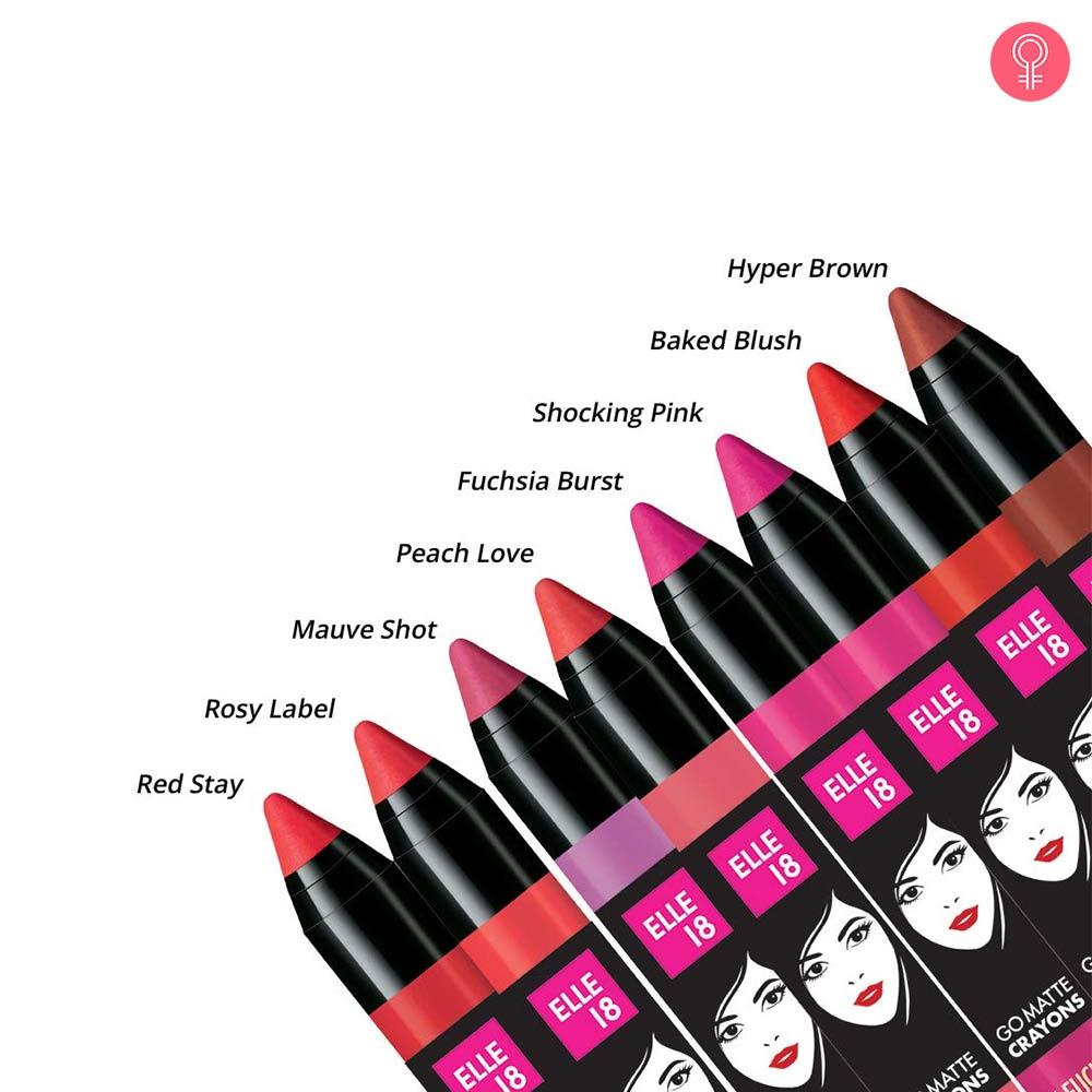 Elle 18 Go Matte Lip Crayon