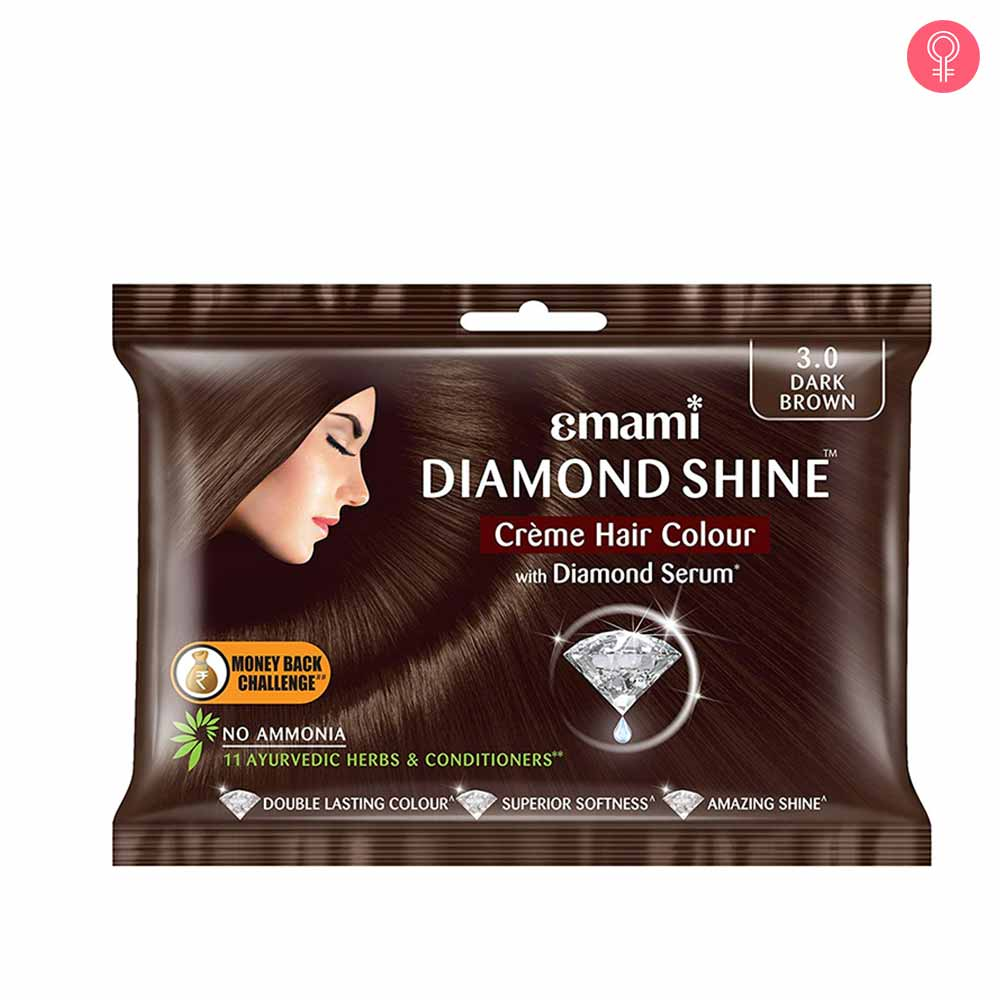 Emami Diamond Shine Creme Hair Colour