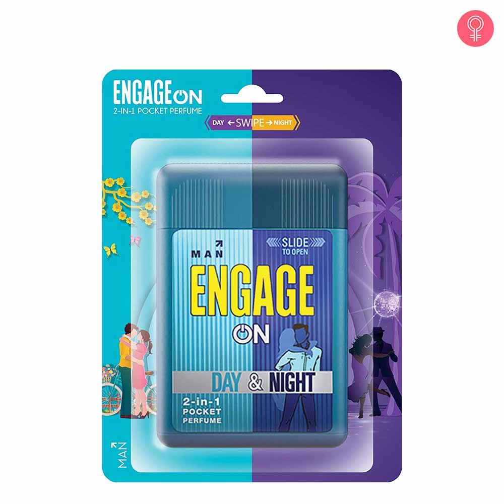 Engage On 2-In-1 Pocket Perfume Woman