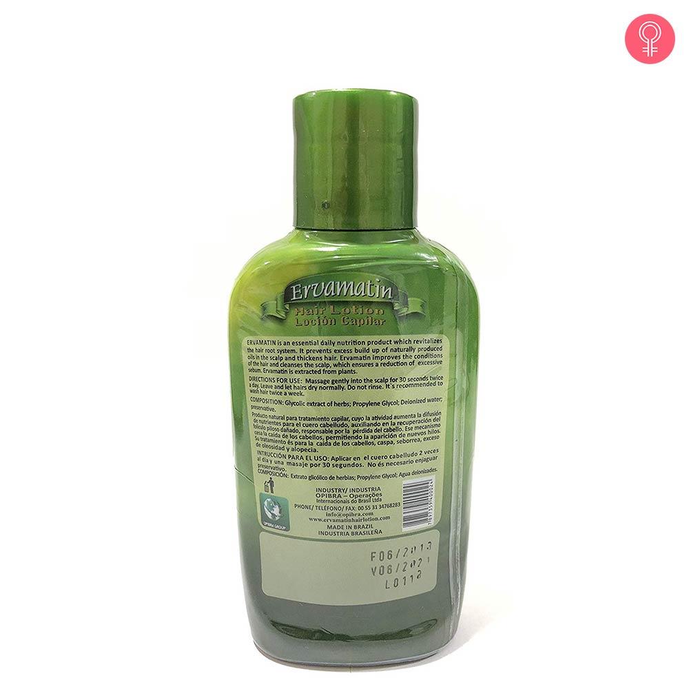Ervamatin Hair Lotion