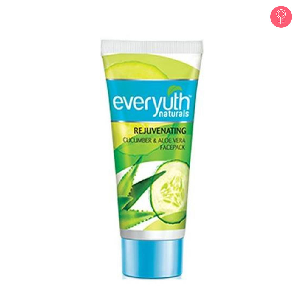Everyuth Naturals Rejuvenating Cucumber Face Pack