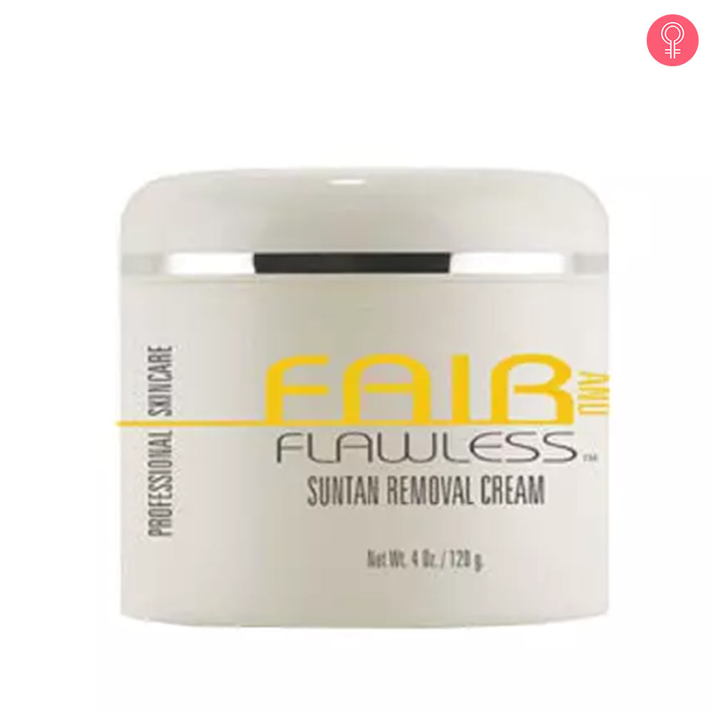 Fair And Flawless Suntan Removal Cream