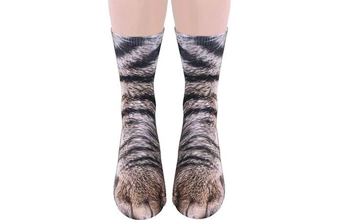 Funny Animal Paw Socks