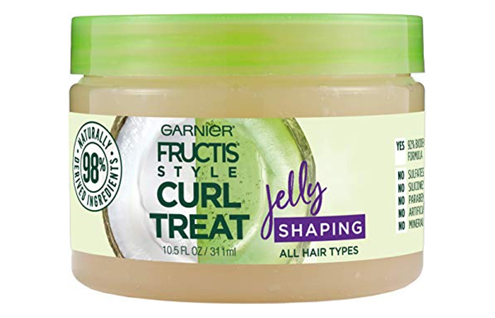 Garnier Fructis Style Curl Treat Shaping Jelly With Coconut Oil