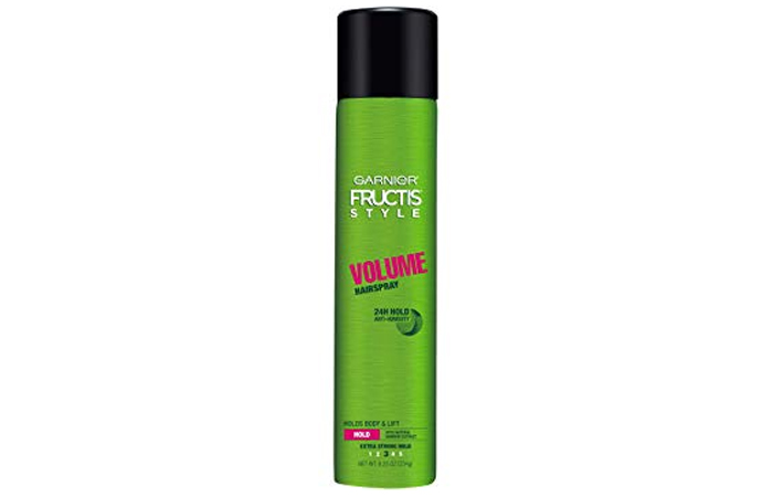 Garnier Fructis Style Volume Hairspray 24H Hold Anti-Humidity