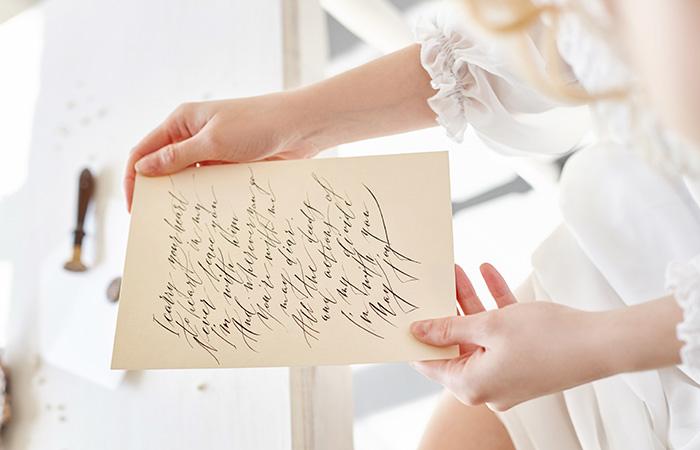 Give Him A Handwritten Note