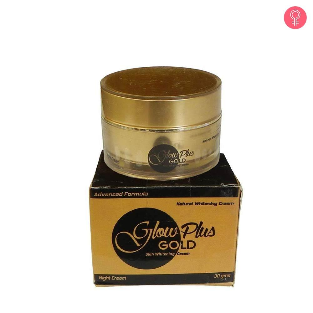 Glow Plus Gold Skin Whitening Cream