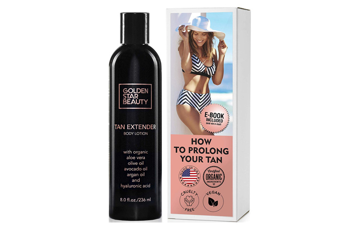 Golden Star Beauty Tan Extender Body Lotion