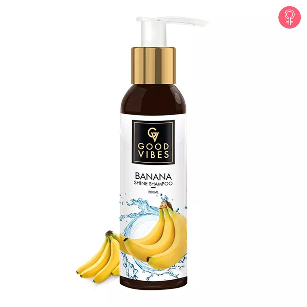 Good Vibes Banana Shine Shampoo