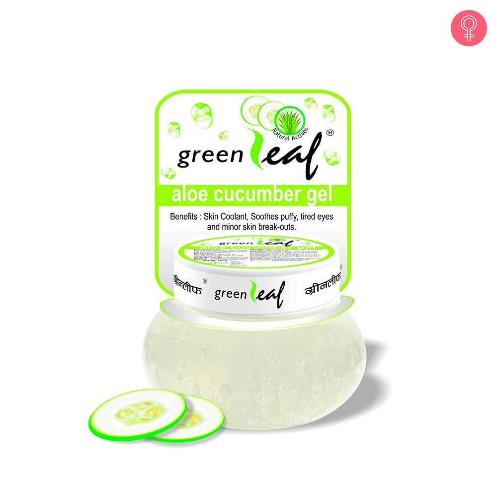 Green Leaf Aloe Cucumber Gel