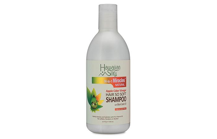 Hawaiian Silky 14-in-1 Miracles Natural Apple Cider Vinegar Shampoo