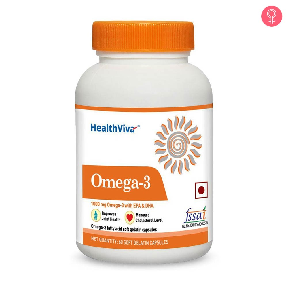 Healthviva Omega 3 Supplement