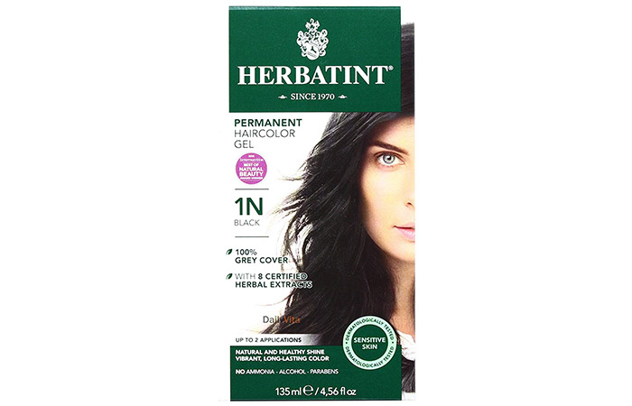 Herbatint Permanent Herbal Hair Color Gel