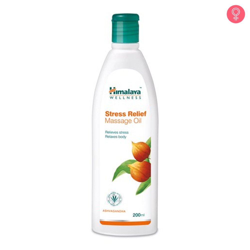 Himalaya Herbals Anti Stress Relief Massage Oil