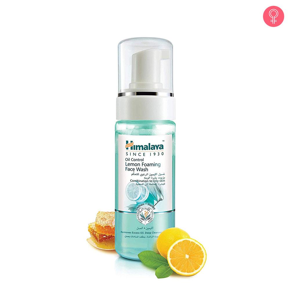 Himalaya Herbals Oil Control Lemon Foaming Face Wash