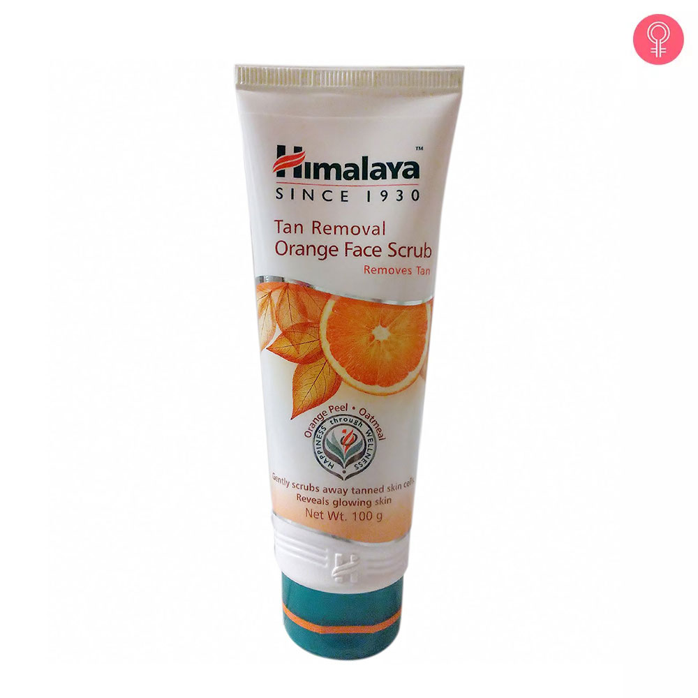 Himalaya Herbals Tan Removal Orange Face Scrub
