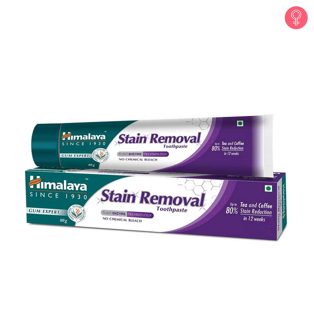 Himalaya Stain Removal Toothpaste