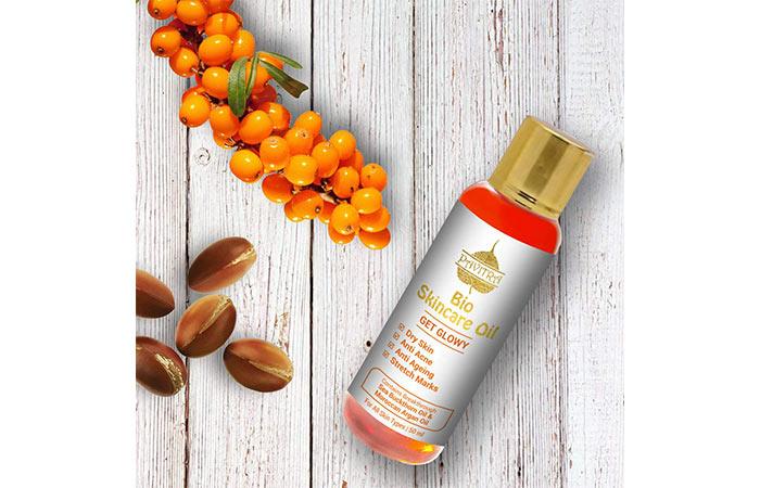 Holy bio skincare oil