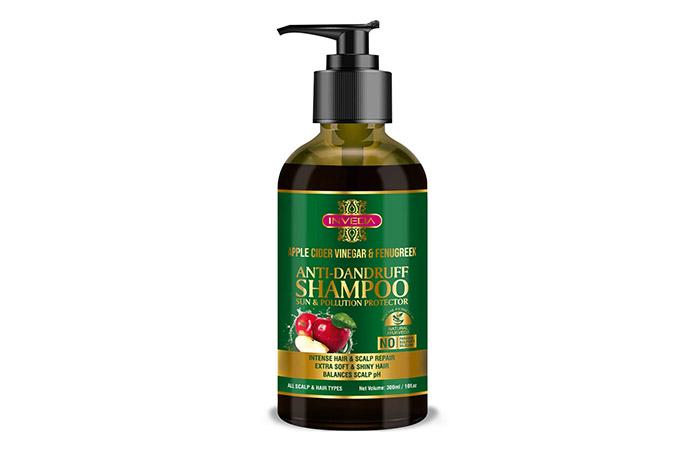 Inveda Apple Cider Vinegar And Fenugreek Anti-Dandruff Shampoo