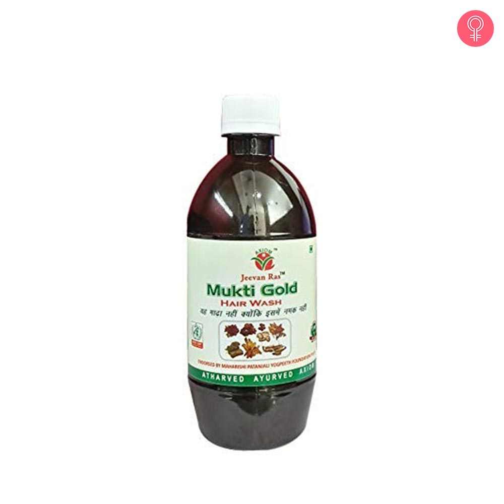 Jeevan Ras Mukti Gold Hairwash Shampoo