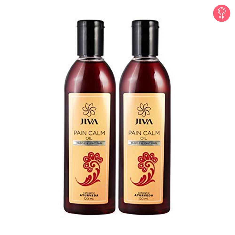 Jiva Ayurveda Pain Calm Oil
