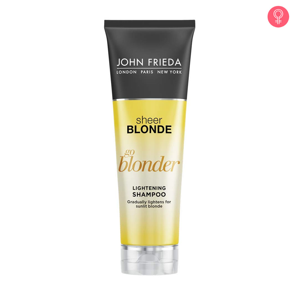John Frieda Sheer Blonde Go Blonder Lightening Shampoo