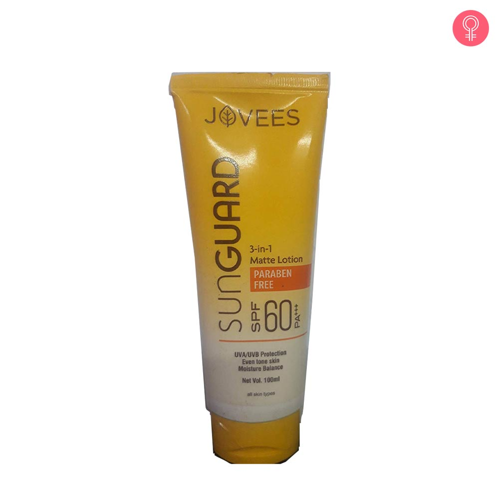Jovees Argan Sun Guard Lotion SPF 60 PA++++