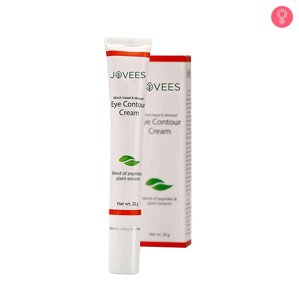 Jovees Eye Contour Cream With Witch Hazel & Almond