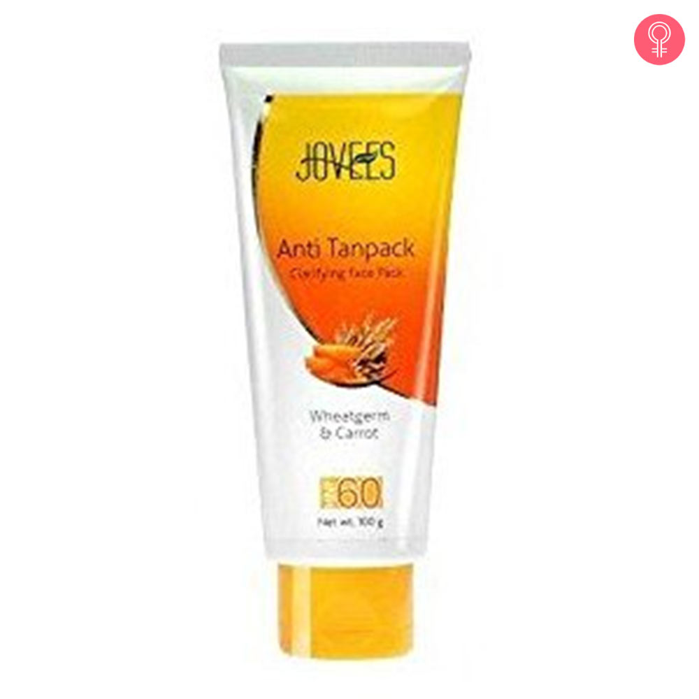 Jovees Wheatgerm & Carrot Anti Tan Pack