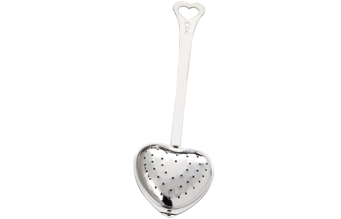 Kate Aspen Tea Time Heart Tea Infuser