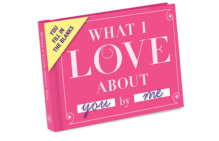 "Knock Knock ""What I Love About You"" Fill In The Love Book"