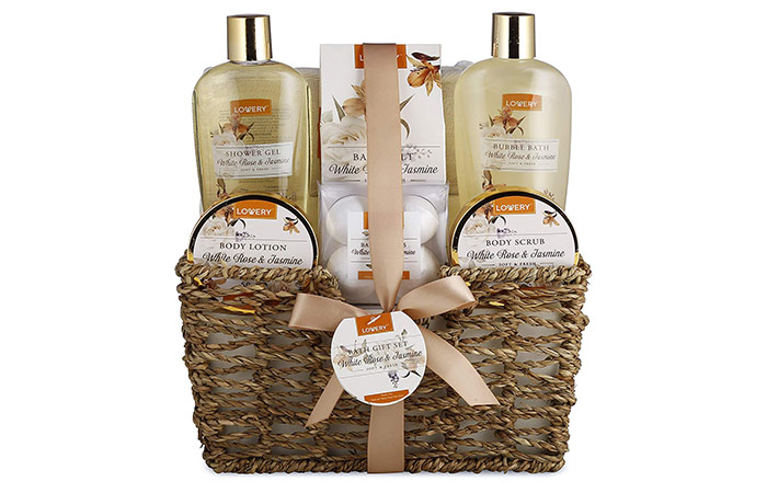 LOVERY Home Spa Gift Basket