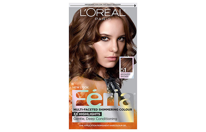 L'Oréal Paris Feria Multi-Faceted Shimmering Permanent Hair Color