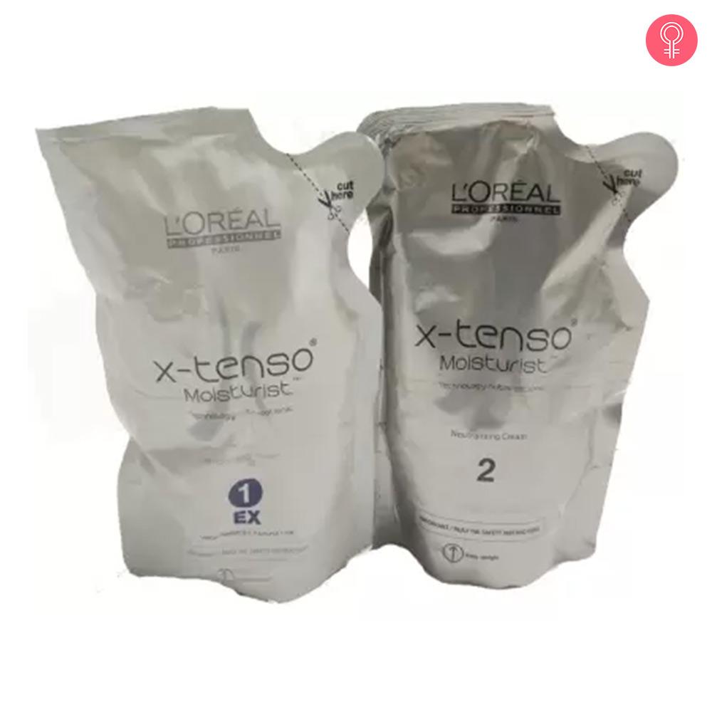 L'Oreal Women's Paris X-Tenso Straightener Cream