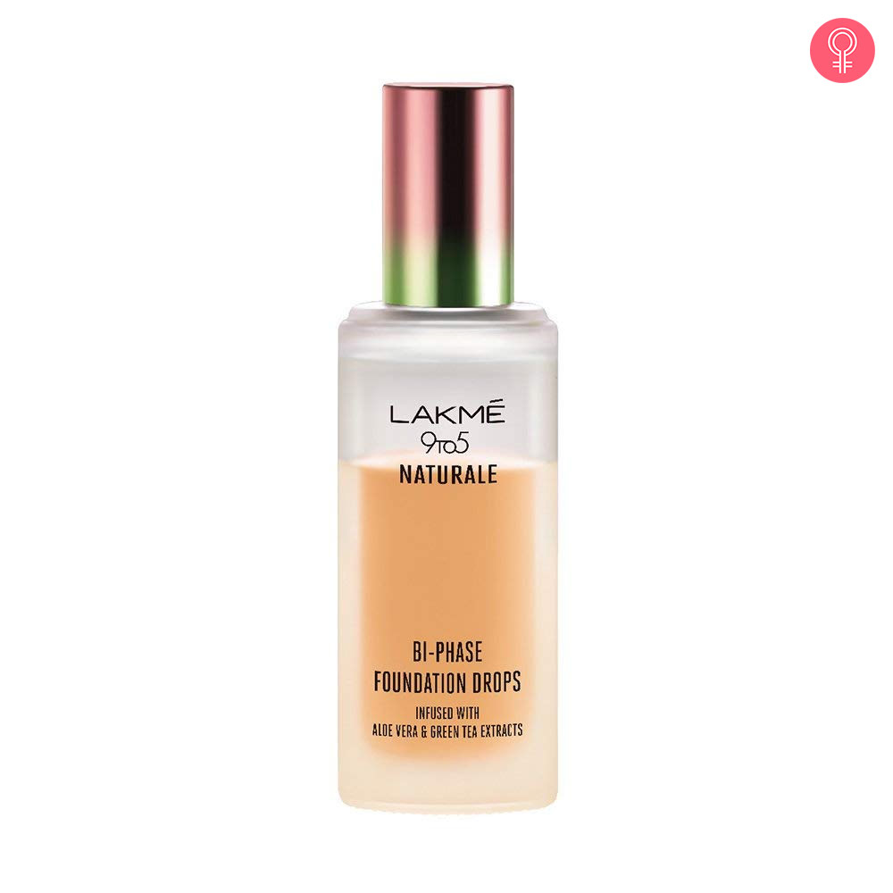 Lakme 9 to 5 Naturale Bi Phase Foundation Drops