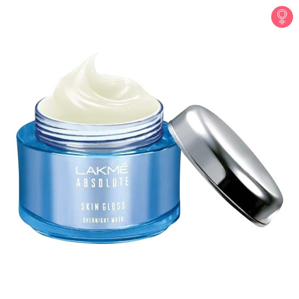 Lakme Absolute Skin Gloss Overnight Face Mask