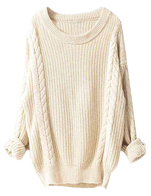 Liny Xin Women's Oversized Cashmere Pullover