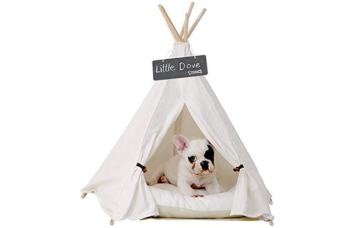 Little Dove Pet Teepee Dog & Cat Bed