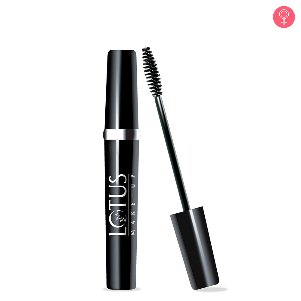 Lotus Make Up Maxlash Volumising Botanical Waterproof Mascara