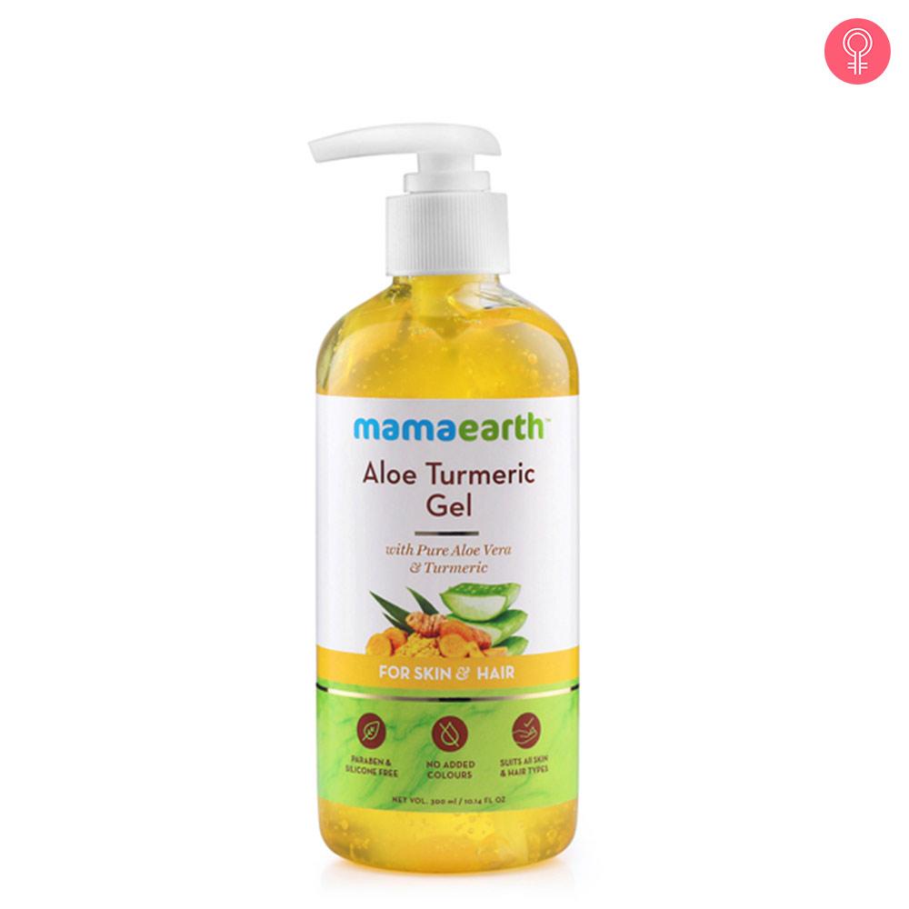 Mamaearth Aloe Turmeric Gel for Skin and Hair