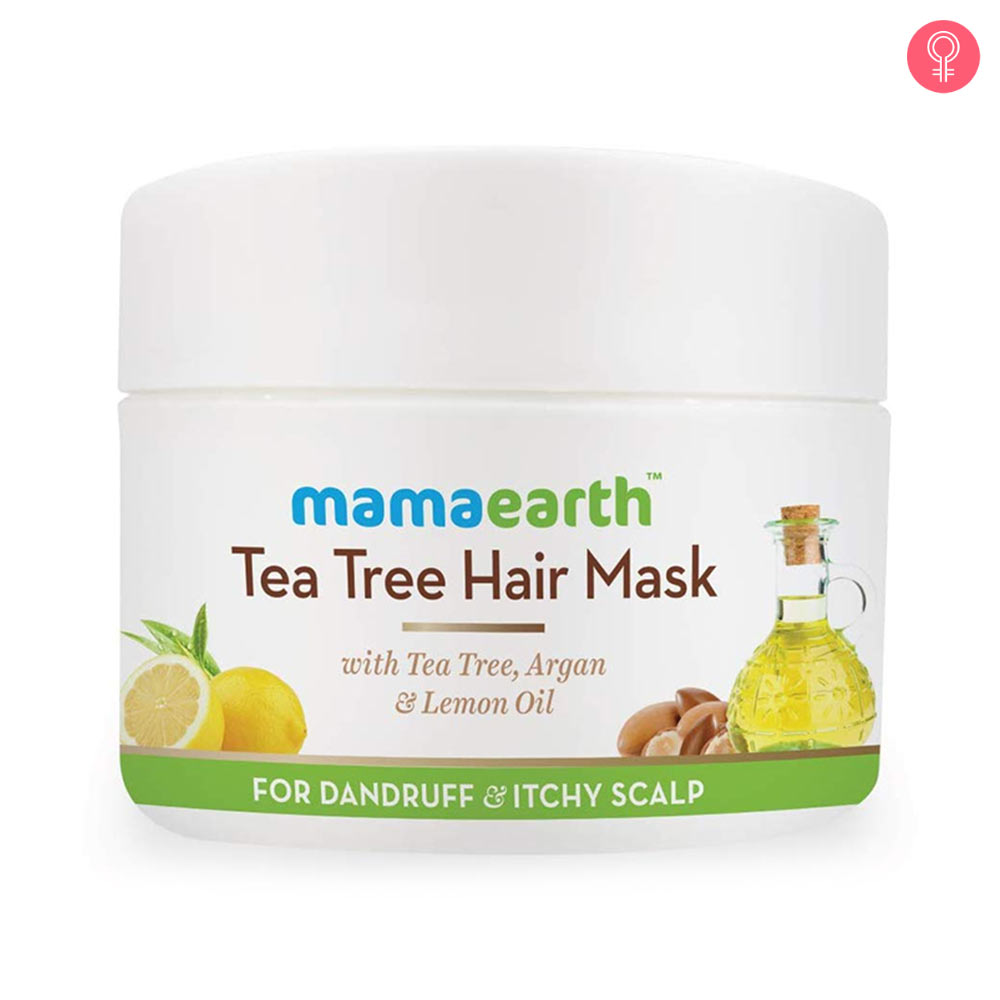 Mamaearth Anti Dandruff Tea Tree Hair Mask