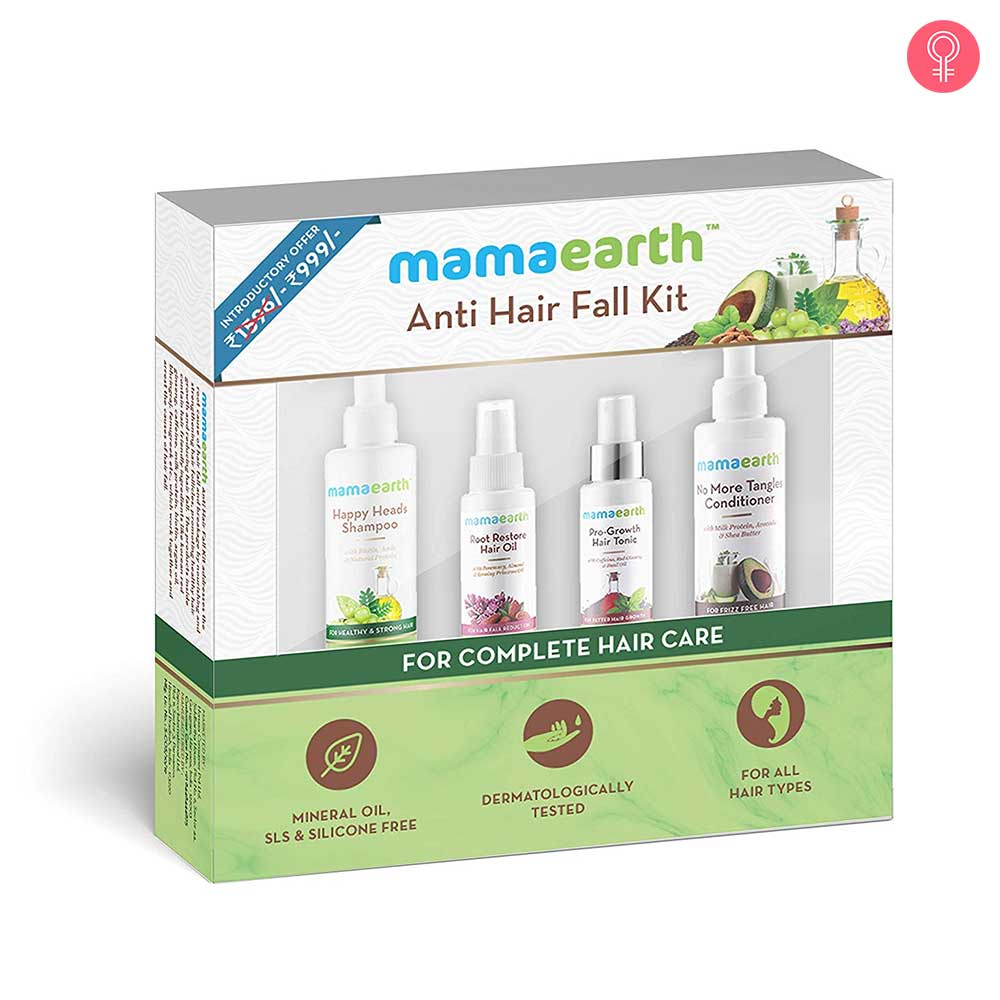 Mamaearth Anti Hair Fall Kit