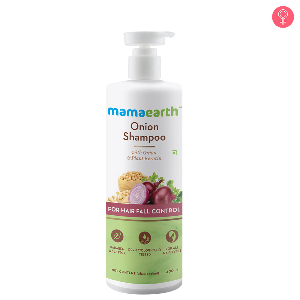 Mamaearth Onion Hair Fall Shampoo for Hair Growth & Hair Fall Control