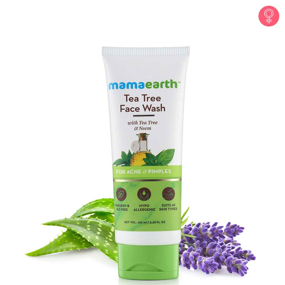 Mamaearth Tea Tree Natural Face Wash For Acne & Pimples