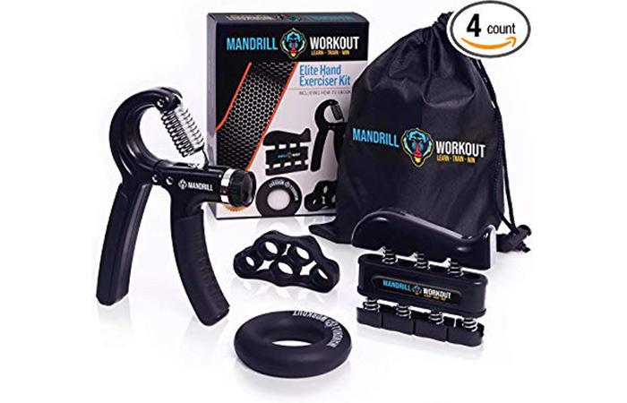 Mandrill Workout Elite Hand Exerciser