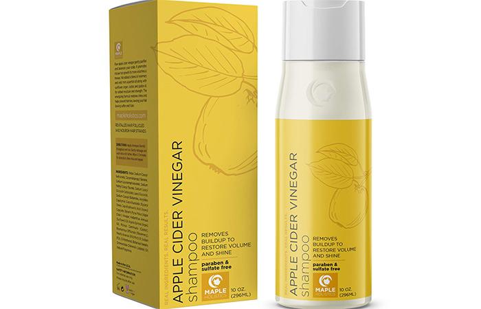 Maple Holistics Apple Cider Vinegar Shampoo