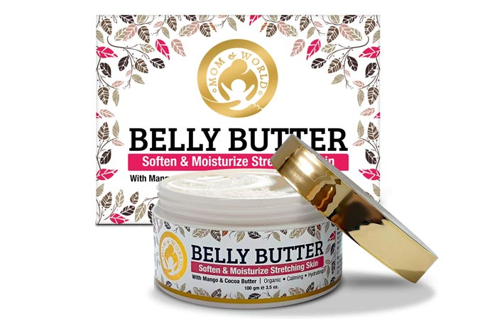 Mom and world belly butter with mango and cocoa butter